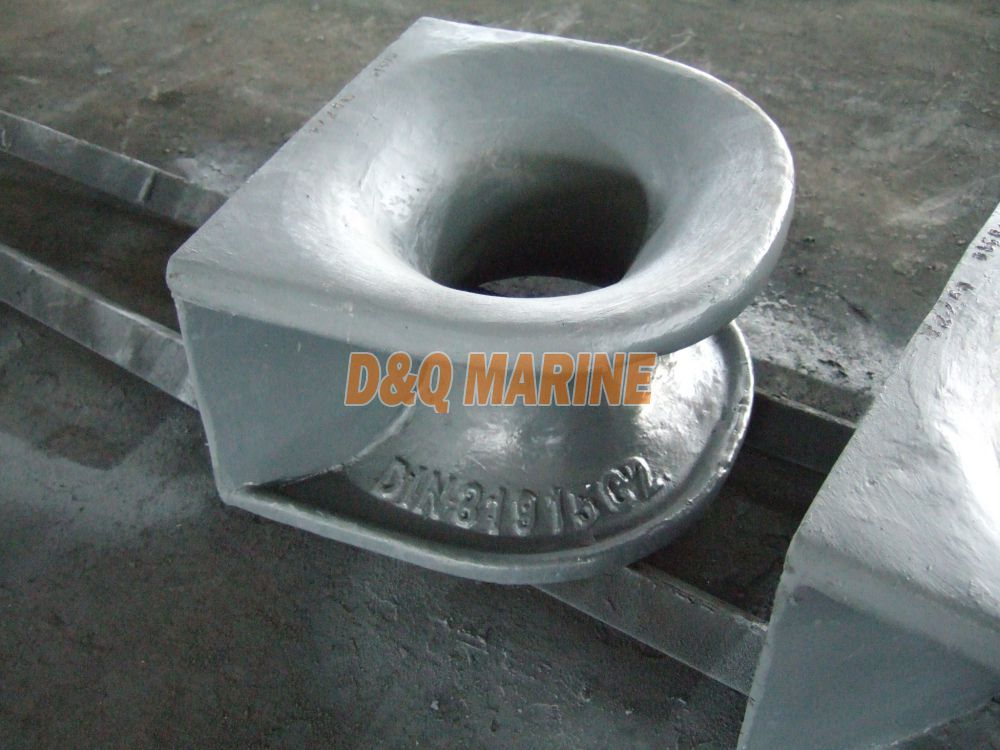 DIN81915 C Type Deck Mounted Mooring Chock