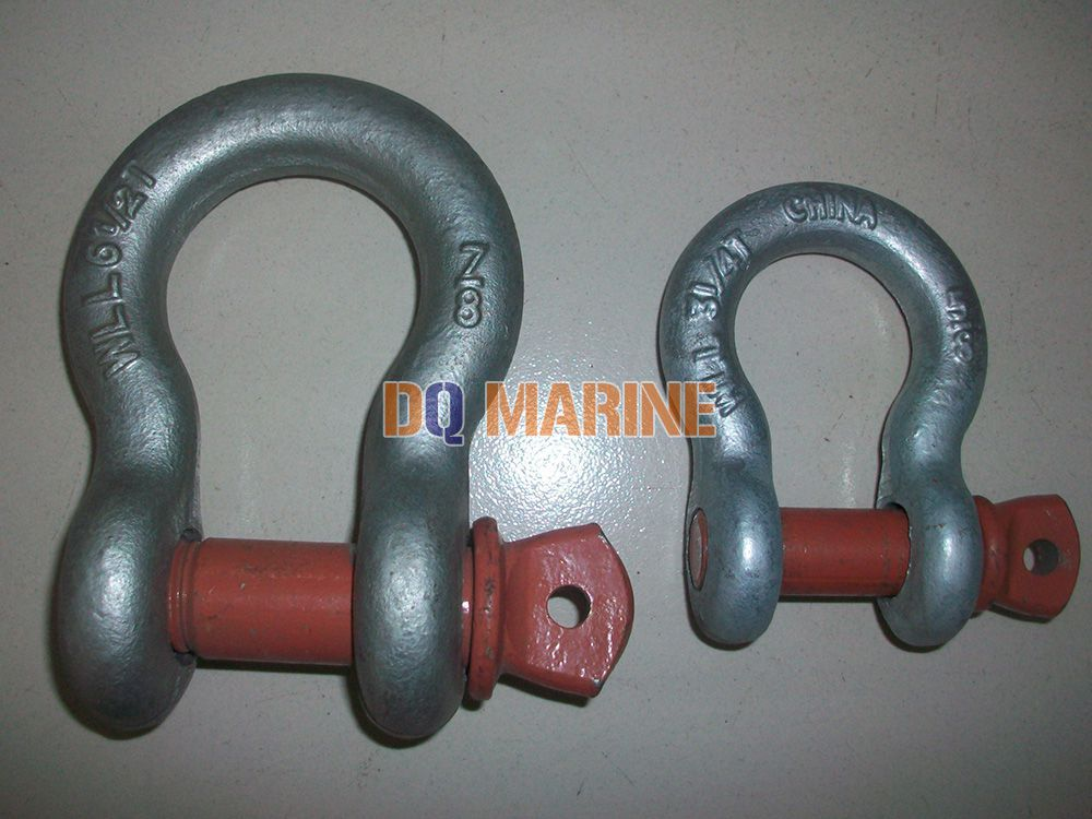 European Type Large Bow Shackles