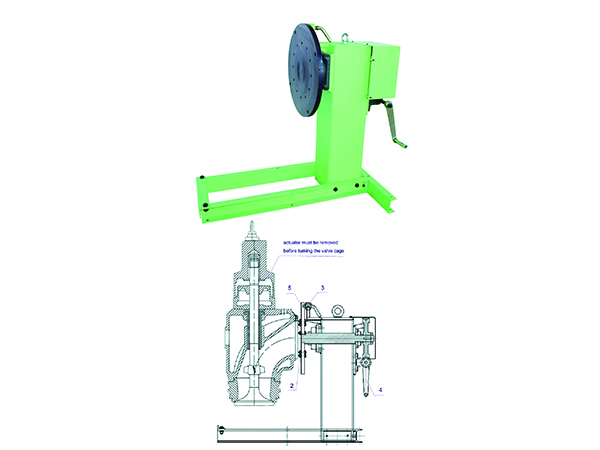 Exhaust valve table