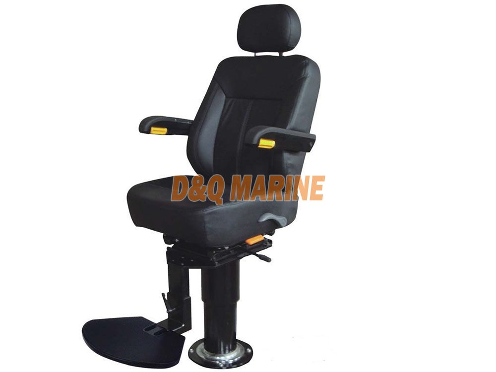 Steel Fixed Pilot Chair TR-001 with Round Column