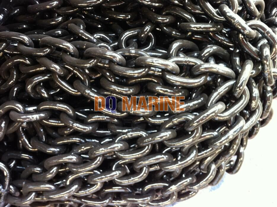 Grade 2 16mm open link anchor chain