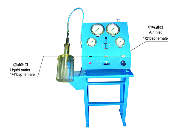 HDP-1100-1 Type Fuel injector testbed test bench