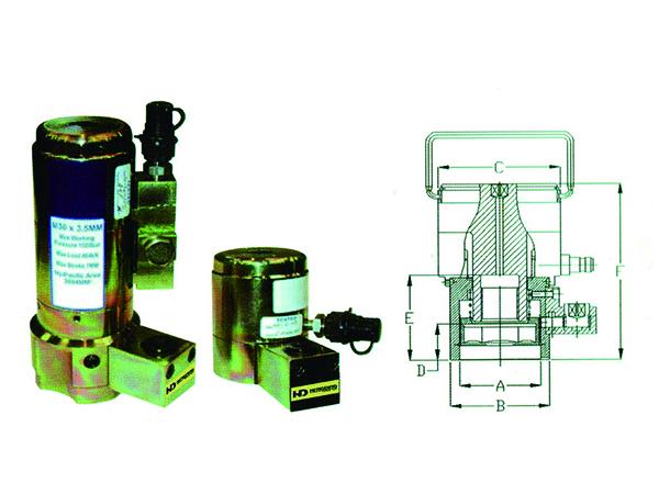 HLC Series Gear drive hydraulic stretcher