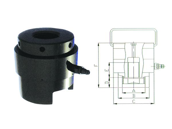 HLF Series Automatic reset hydraulic stretcher