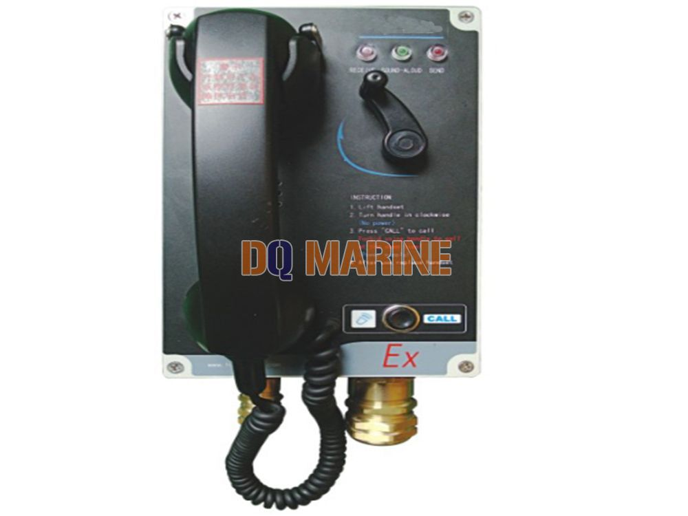 HS-2E Explosion-proof Batteryless Telephone