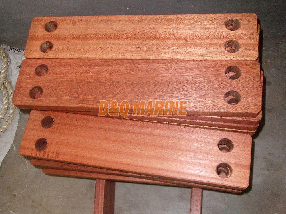 Hardwood Step for Rope Ladder