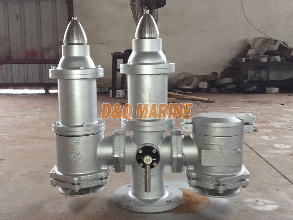 High Velocity Pressure Vacuum Valve with Double Safety