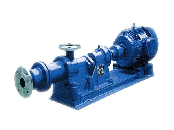 I-1B Series Screw Pump(THick Paste Pump)