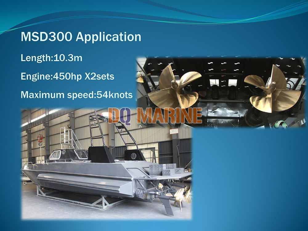 MSD300 Surface drive Thruster
