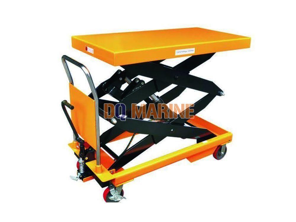 Manual hydraulic platform truck