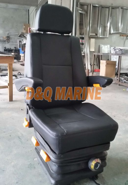 Marine Pilot Seat with Suspension Function