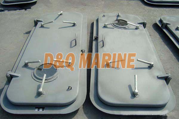 Marine Single Leaf Weathertight Steel Door