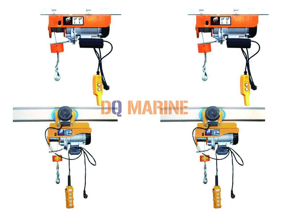 Miniature electric hoist