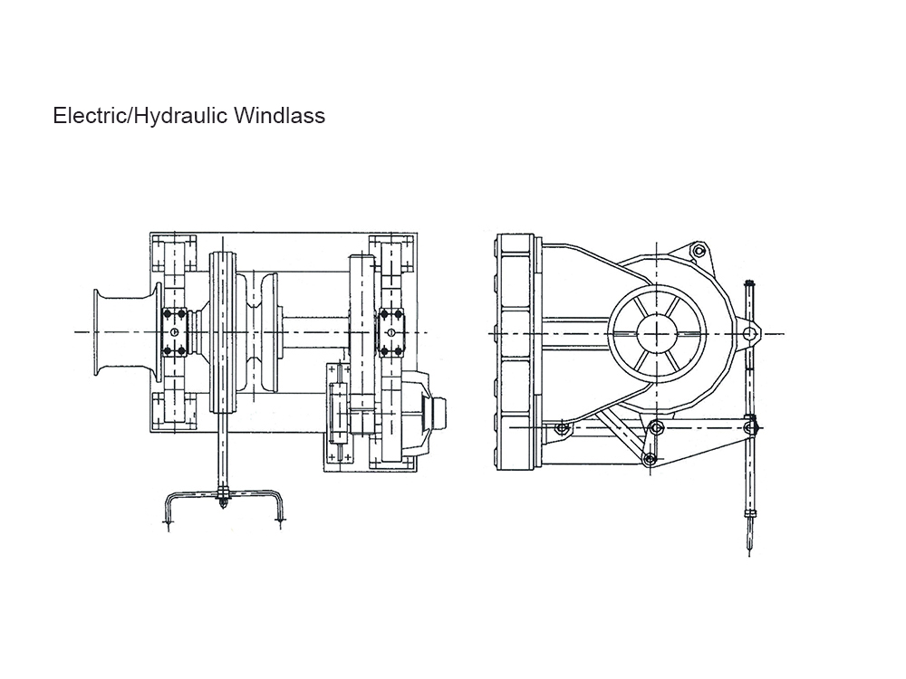 522KN Electric Windlass