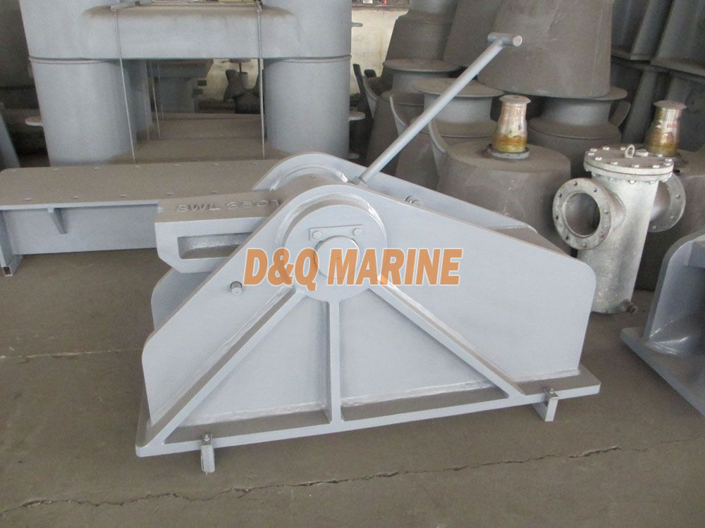 OCIMF Single Point Mooring Chain Stopper
