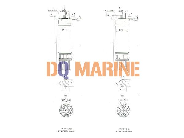 PY(H)57 Series water(seawater) submersible electric motors