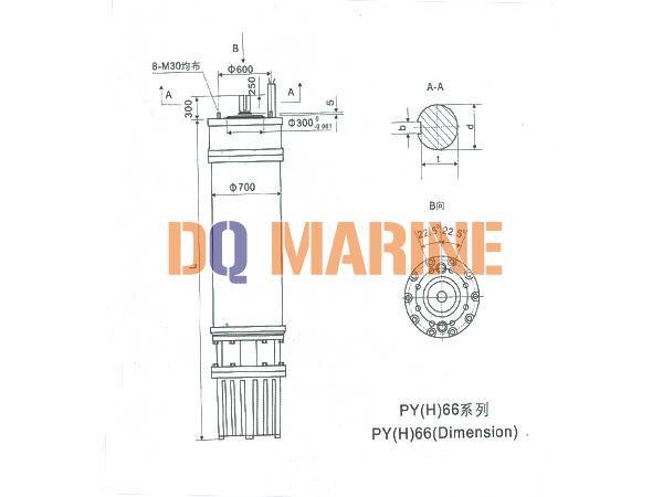 PY(H)66 Series water(seawater) submersible electric motors