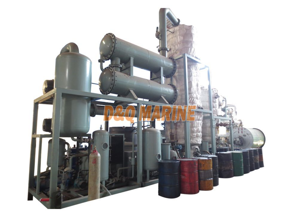 QNF Series Waste Lubricating Oil Regeneration System