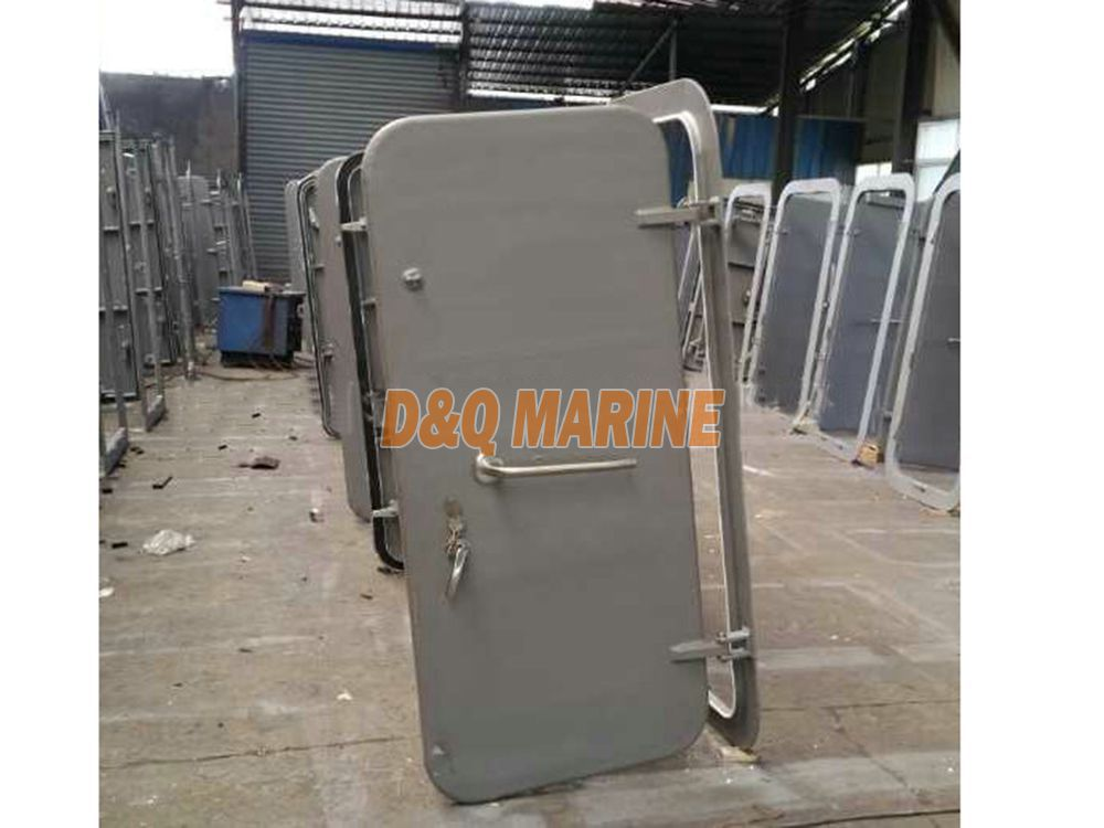 Quick Open and Close Weathertight Steel Door Without Back Plate