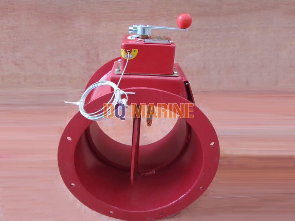 Round Manual Fire Damper