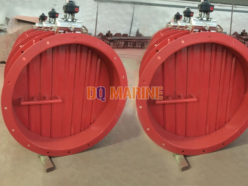 Round Pneumatic Explosion Proof Fire Damper