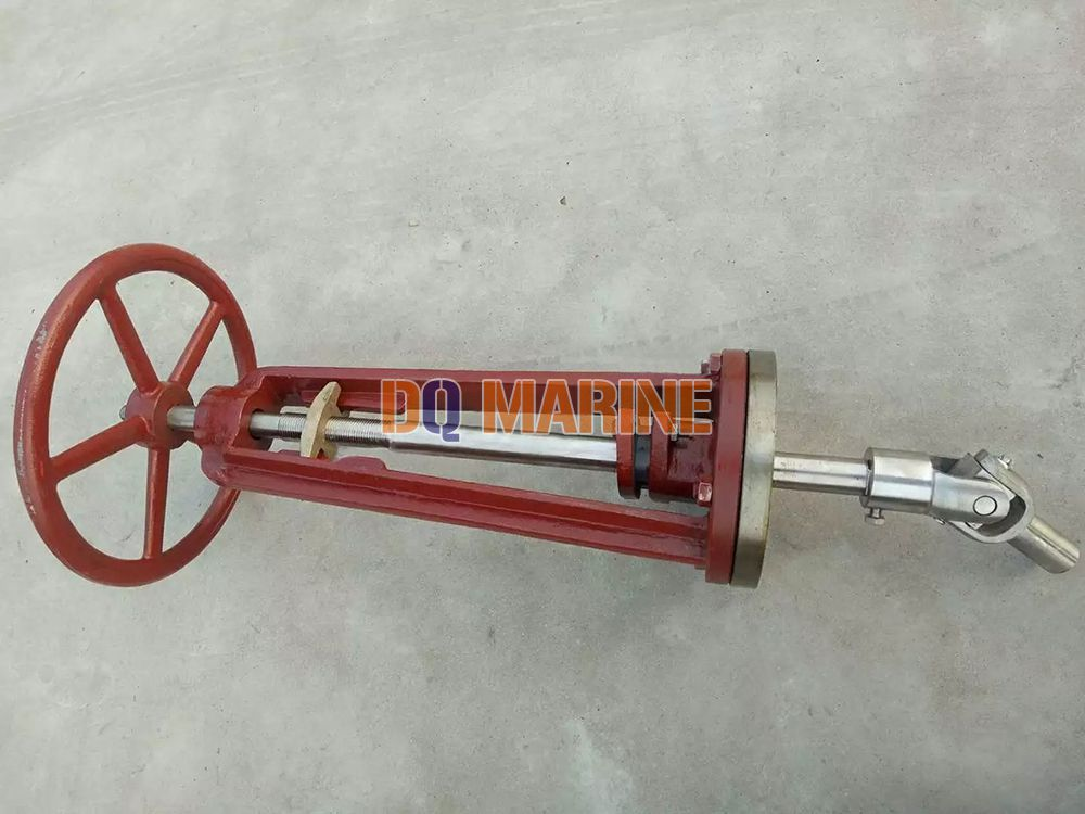 Ship's Deck Stand for Controlling Valve CB693-1975