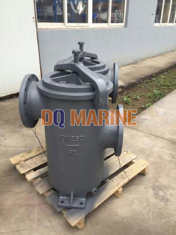 Shipbuilding Simplex Oil Strainer JIS F7209