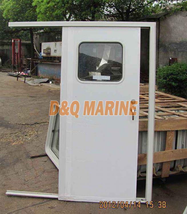 Single Aluminium Stainless Steel Sliding Door For Cabin