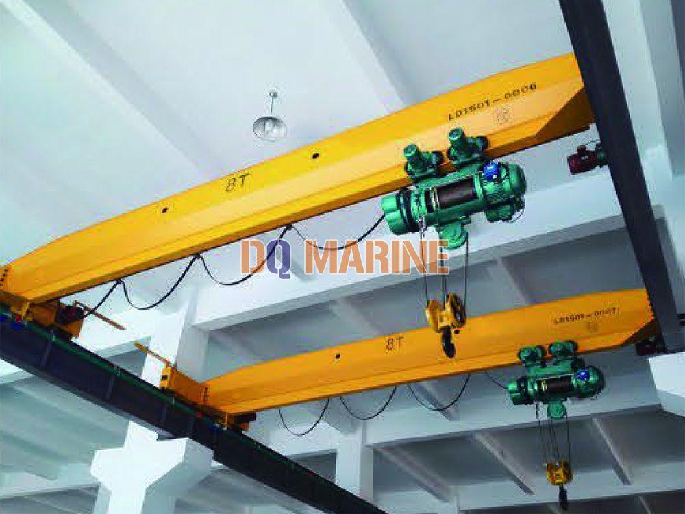 Single beam crane