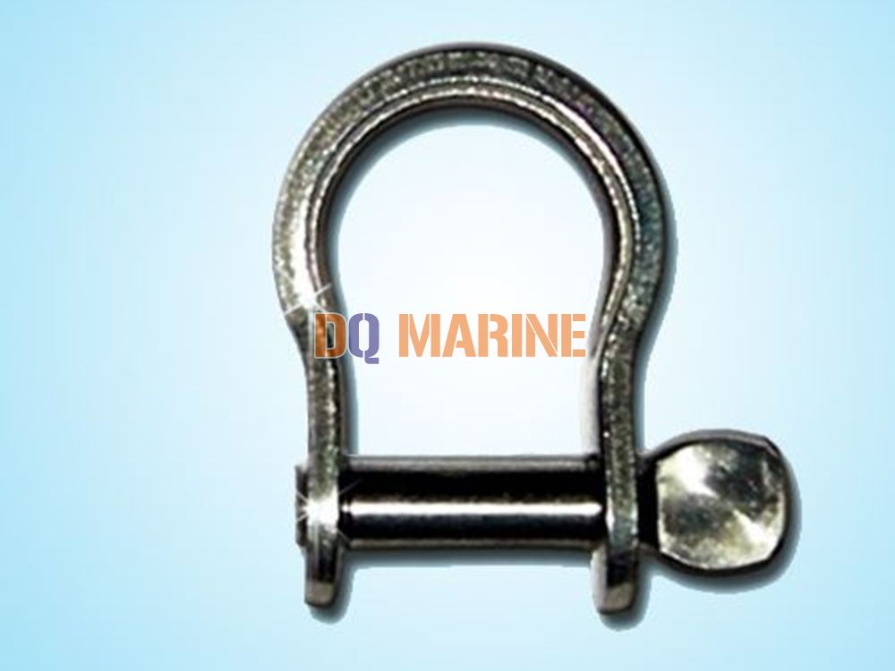 Stainless Steel Flat Bow Shackle