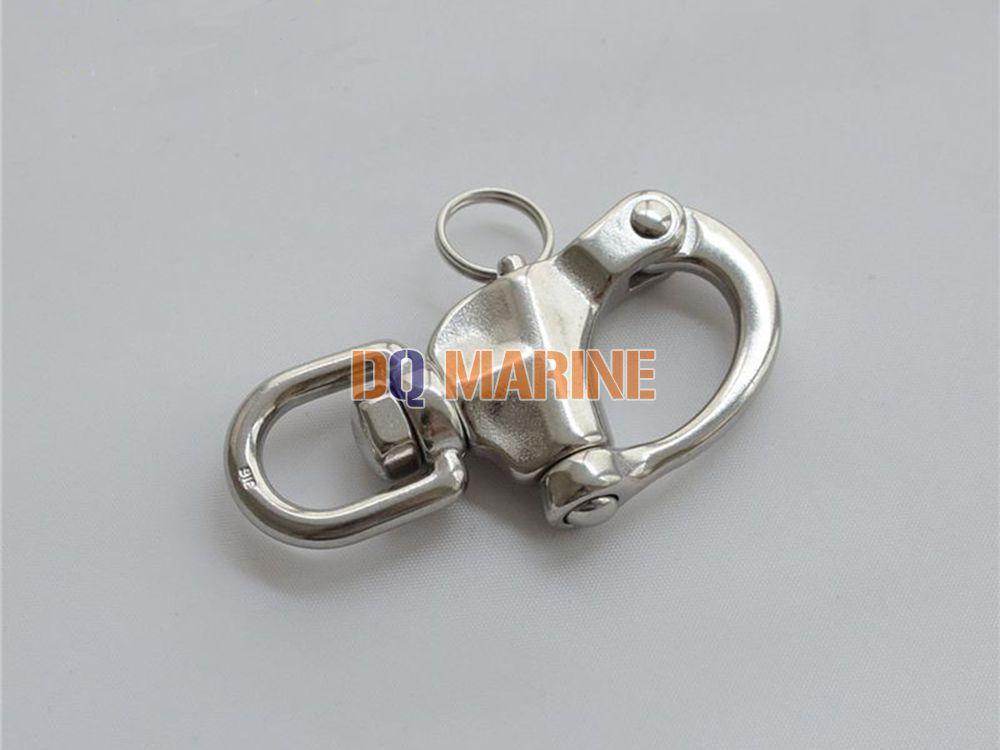 Stainless Steel Swivel Snap Shackle with Eye
