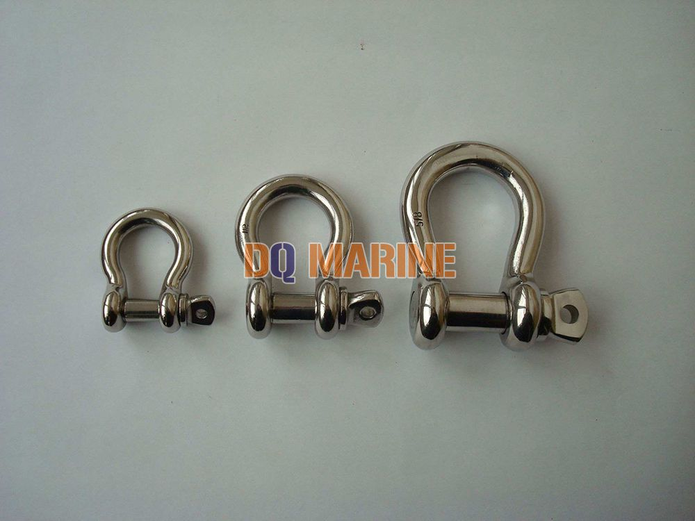 Stainless Steel US Type Bow Shackle