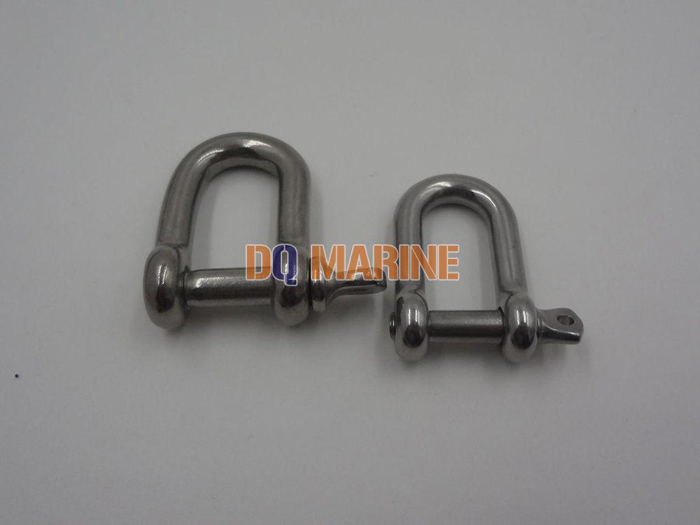 Stainless Steel US Type Dee Shackle