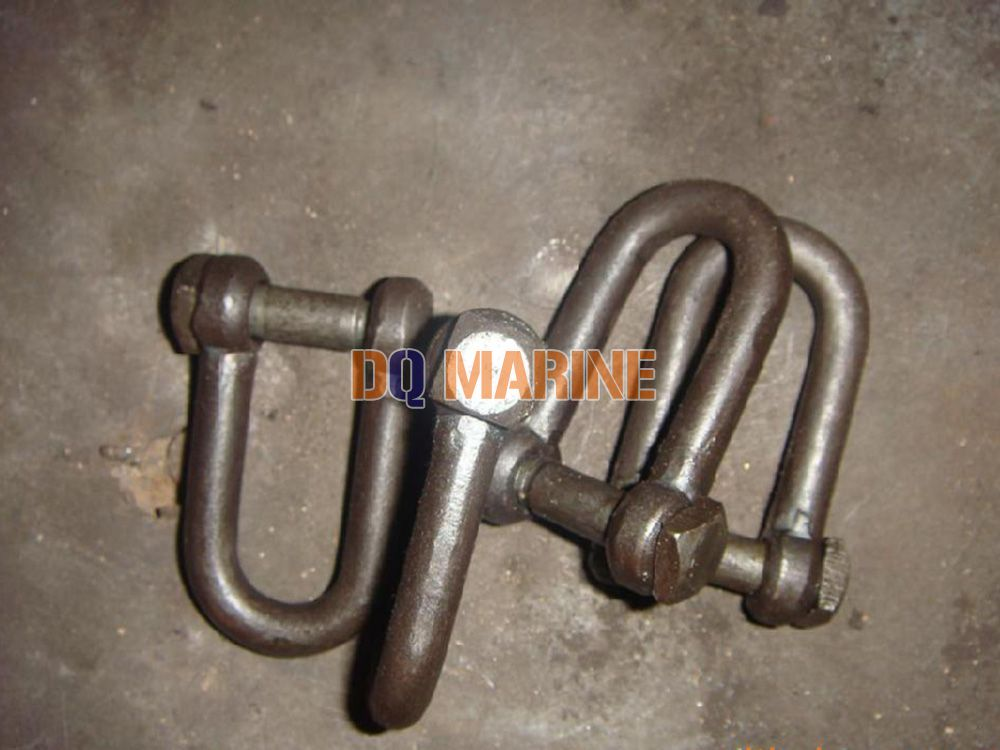 Trawling Shackles with Square Head Screw Pin