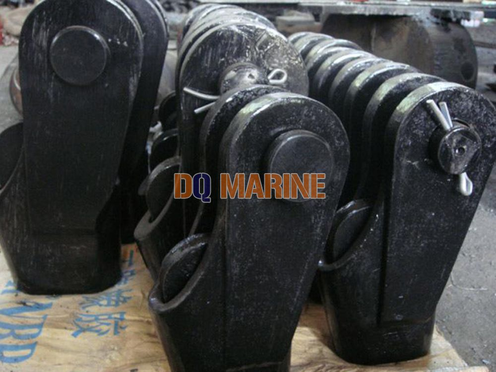 Wedge-Shaped Wire Rope Link