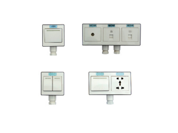 Cabin combination Switch Socket with Stuffing