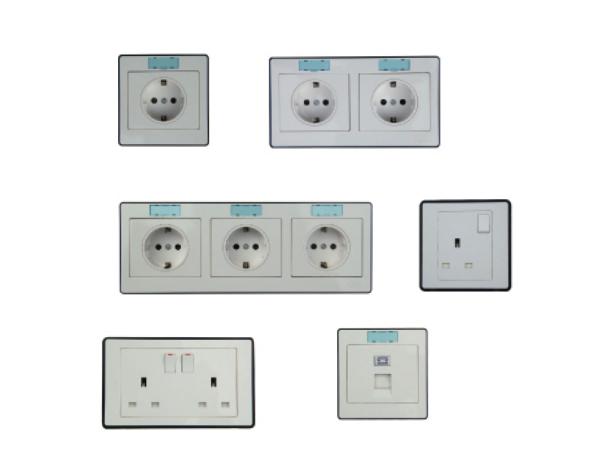 Cabin combination Switch Socket European Standard