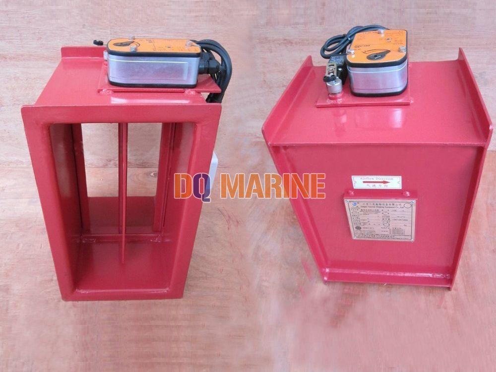 Rectangular Electric Fire Damper