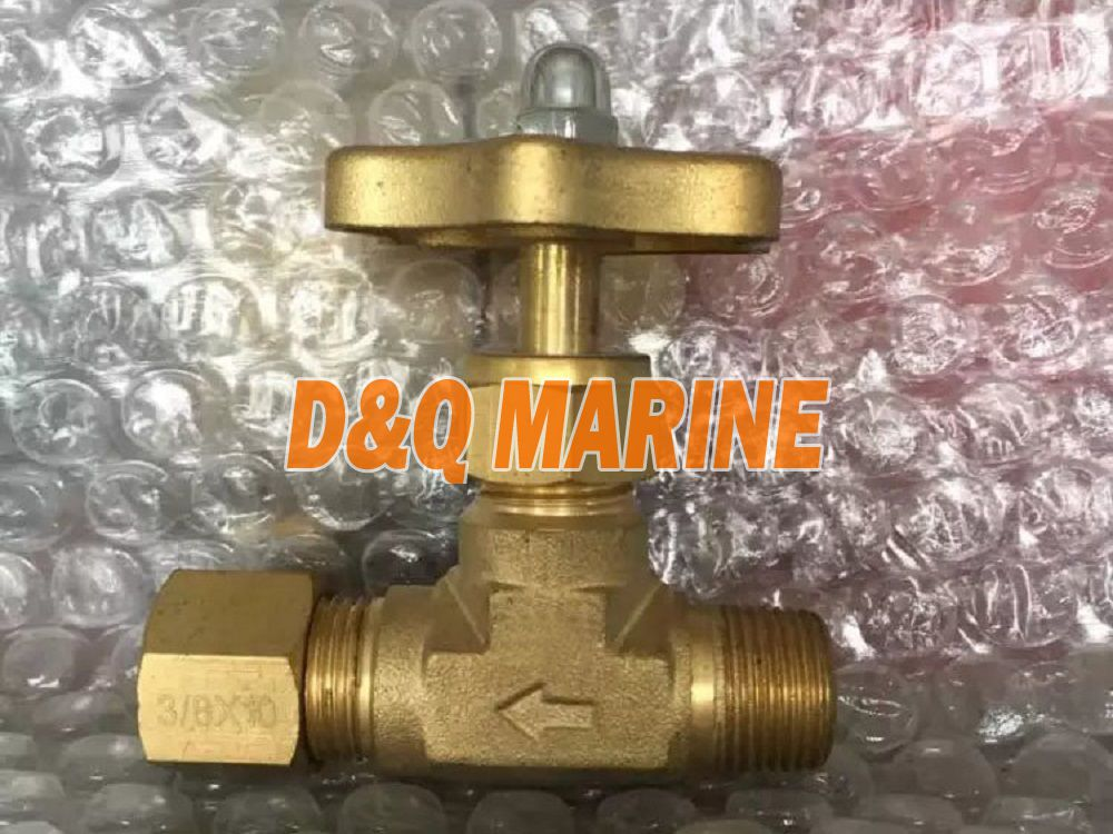 Brass Needle Valve with Ring Joint Nut and Male Thread