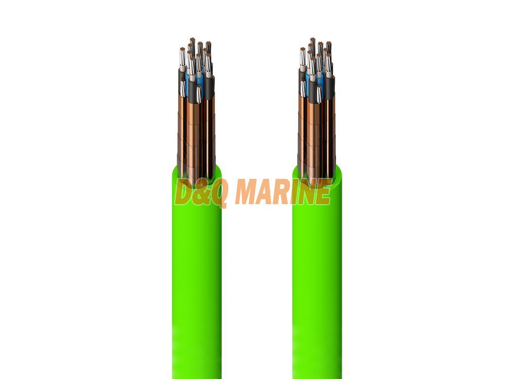 CHJ82 SA XLPE insulated shipboard symmetrical communication cable