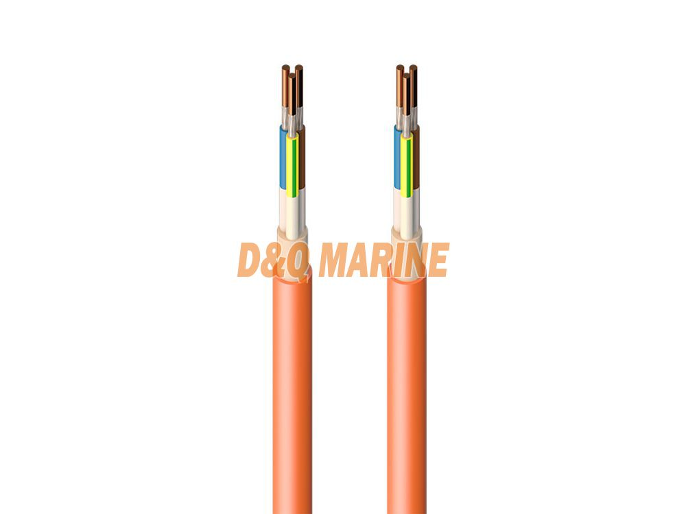 CHJPFP NSC Halogen free XLPE insulated symmetrical communication cable