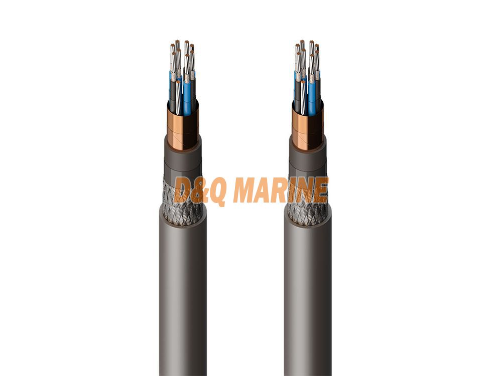 CKEF82 DA SAEPR insulated shipboard control cable.