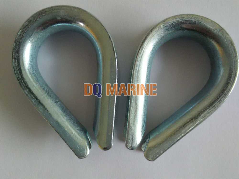 DIN 6899A Wire Rope Thimbles