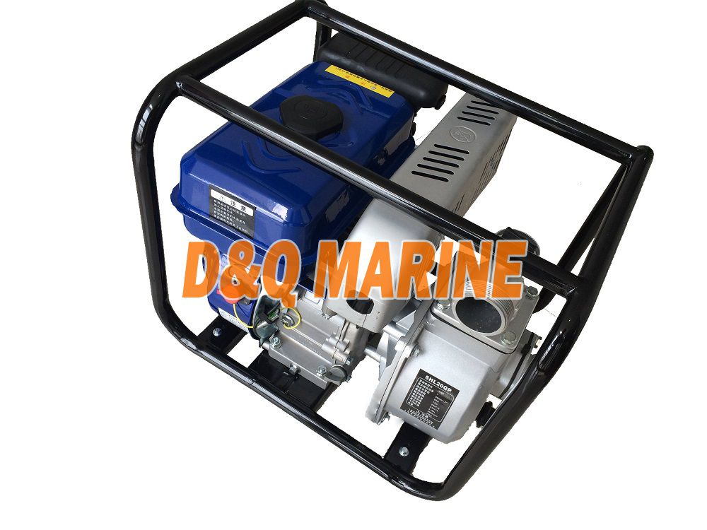 Diesel self-priming water pump