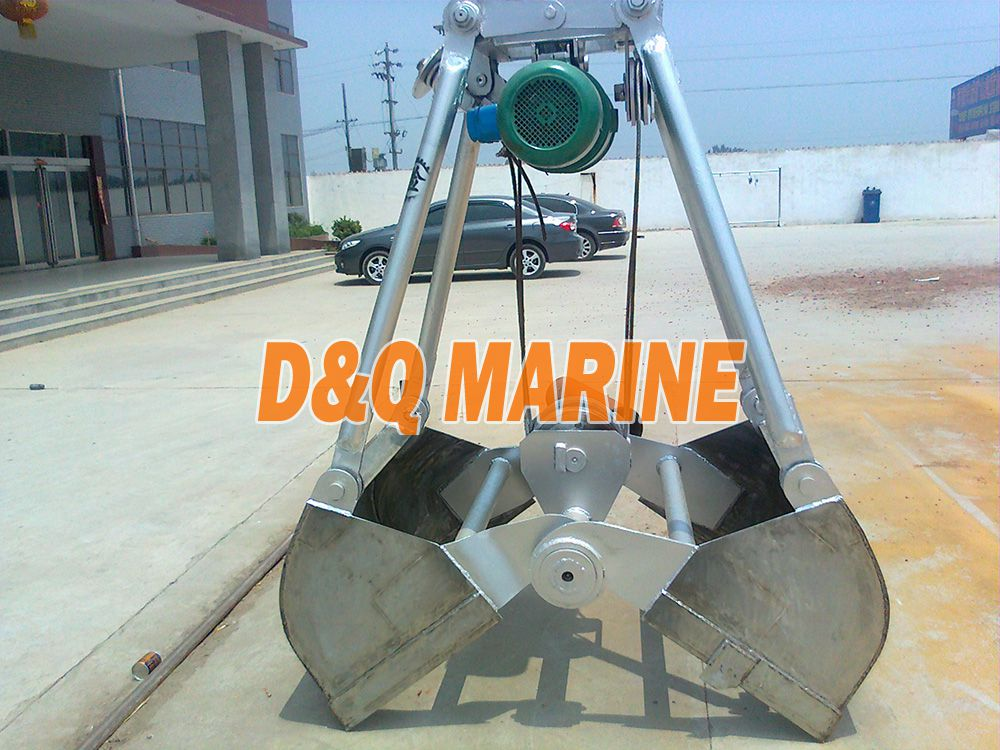 Electric Stainless Steel Grab Bucket