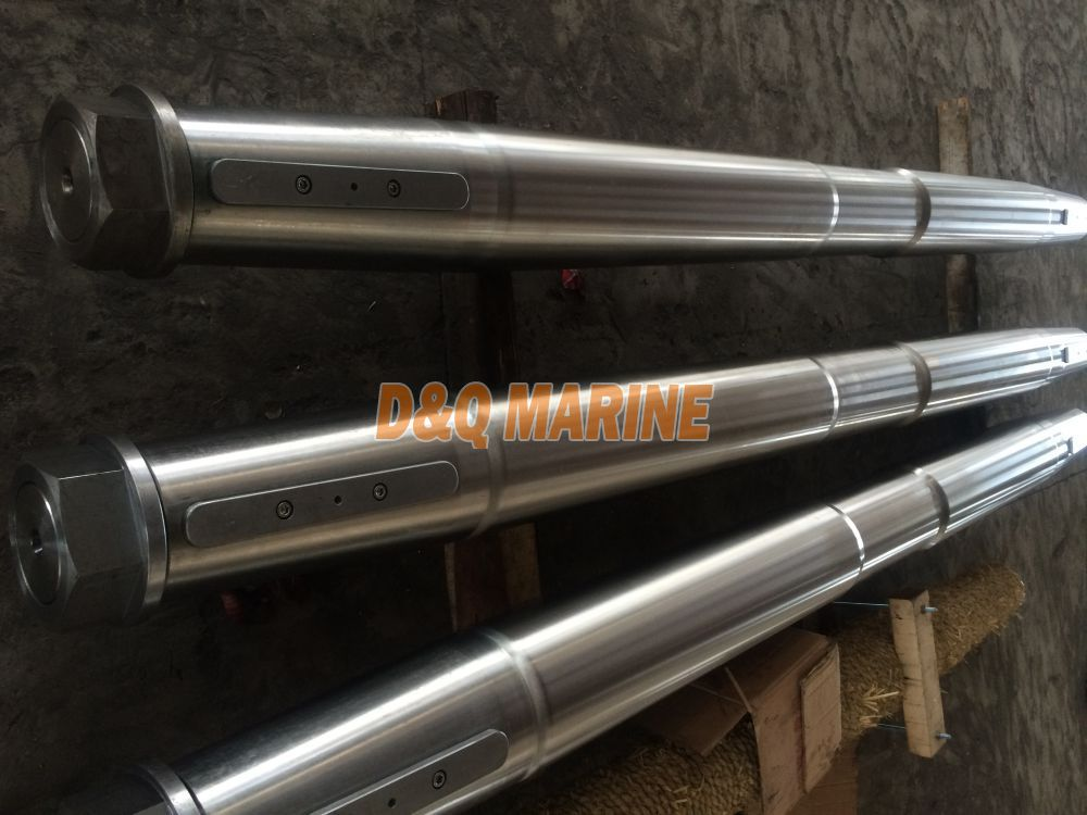 Forged Stainless Steel Marine Propeller Stern Shaft