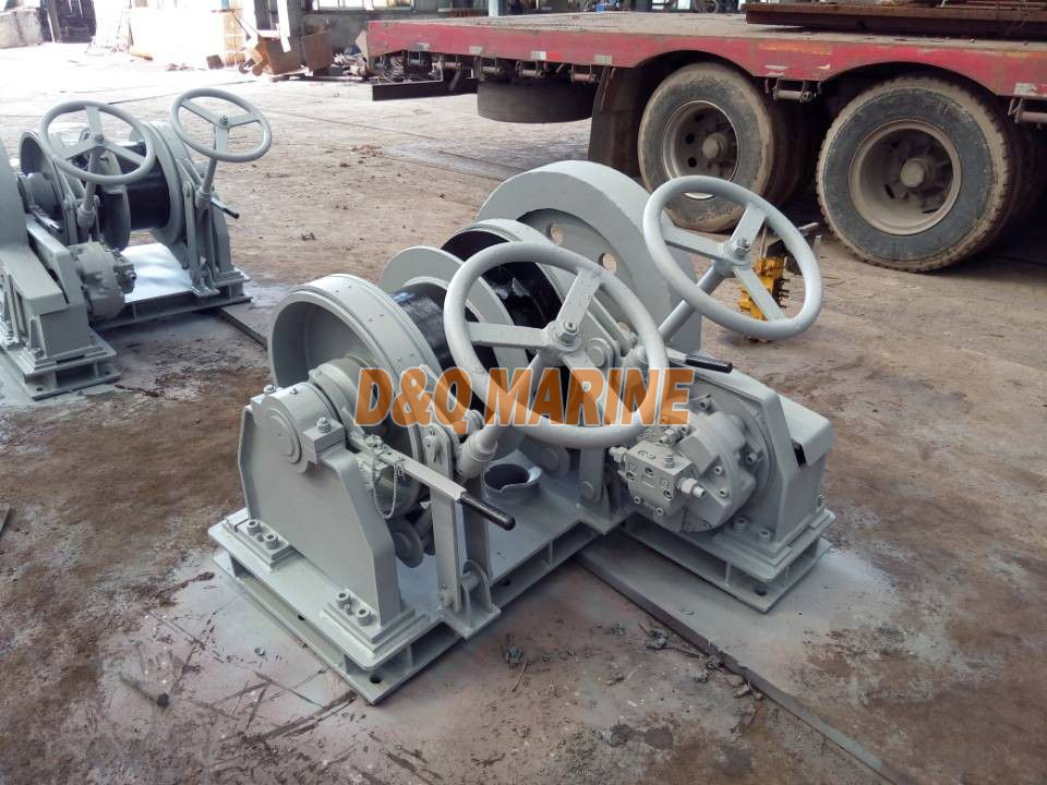 Friction winch