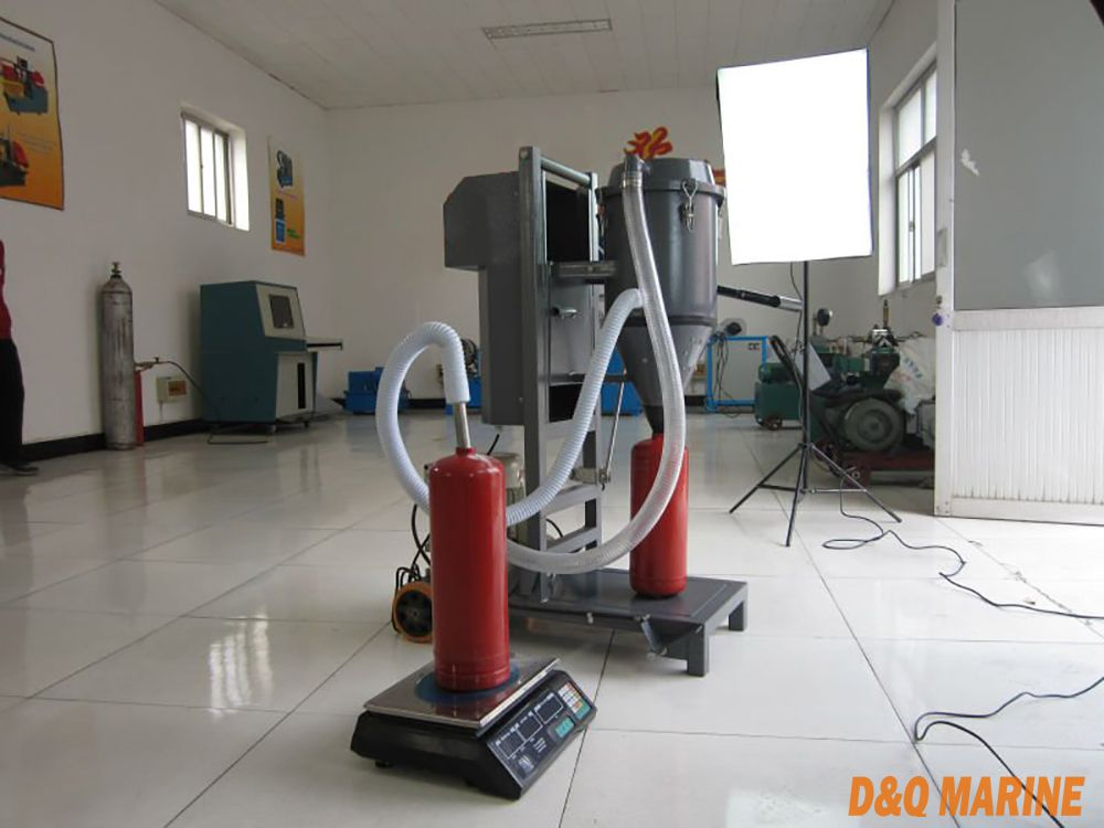 GFM16-1 Model Fire Extinguisher Dry Powder Filling Machine