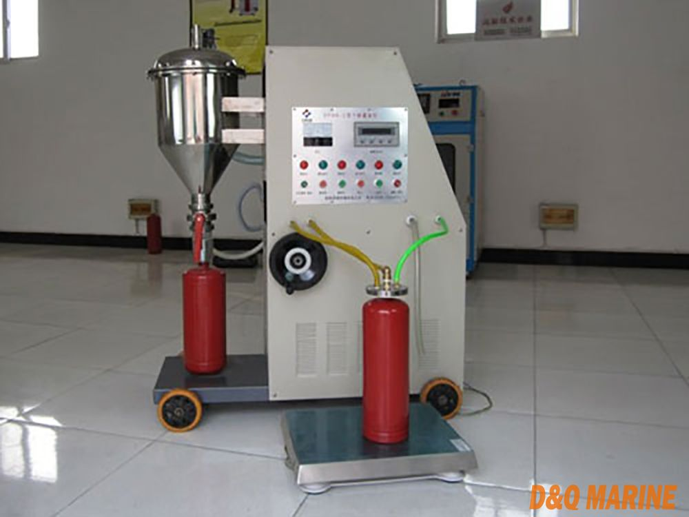 GFM8-2 Model Automatic Fire Extinguisher Powder Filling Machine