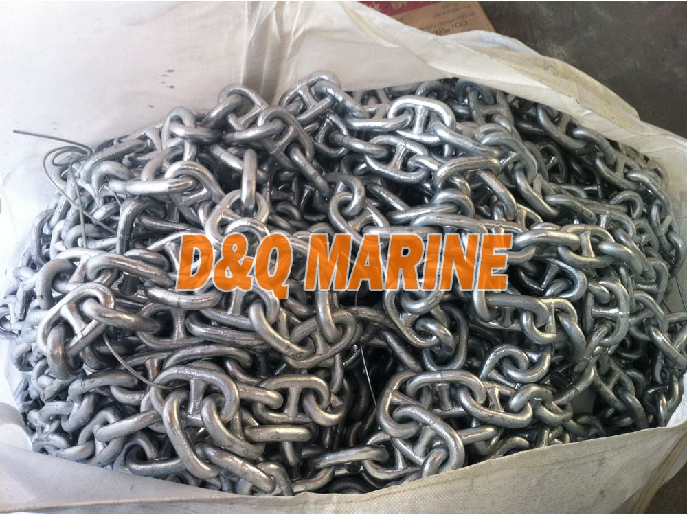 Grade 2 24mm Hot Dip Galvanized Stud Link Anchor Chain